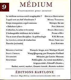 Revue Médium, couverture n°9